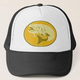 catfish fish retro trucker hat