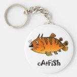 Catfish Keychain