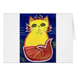 Catfish Kitty Card