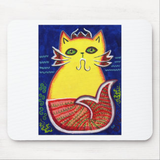 Catfish Kitty Mouse Pad