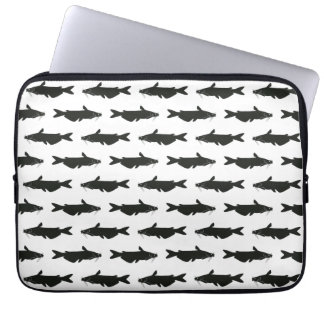 Catfish Pattern for the High Tech Redneck Laptop Computer Sleeves