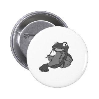 Catfish Pinback Button