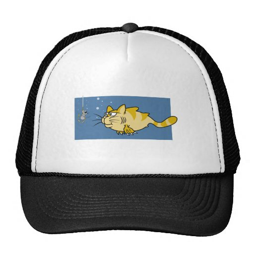 Catfish Pun Trucker Hats