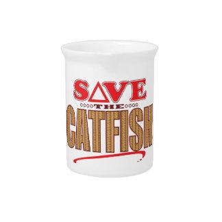 Catfish Save Beverage Pitcher