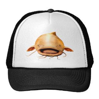 catfish smile mesh hat