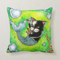 Catfish-Throw pillow