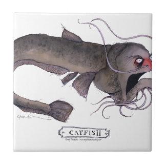 Catfish, tony fernandes ceramic tile