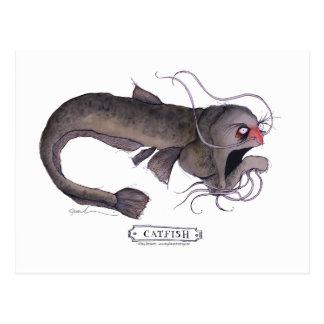 Catfish, tony fernandes postcard