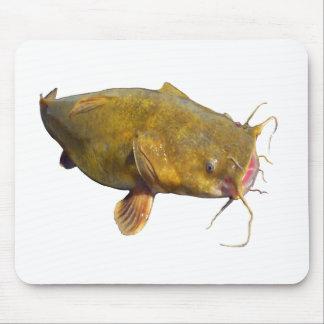 Catfishing Fishing Mouse Pad