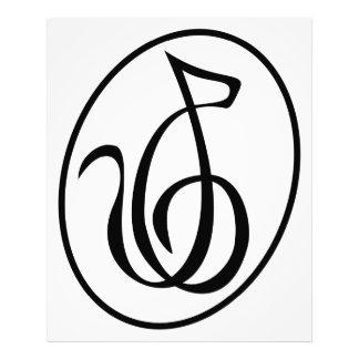 Catgut Strings Art Deco Treble Clef Logo Wall Photo Print