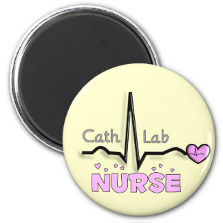Cath Lab Nurse Gifts Magnets