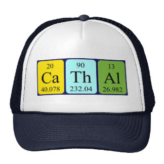 Cathal periodic table name hat