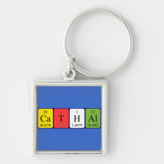Cathal periodic table name keyring keychain
