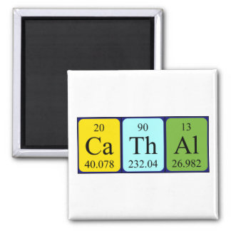 Cathal periodic table name magnet