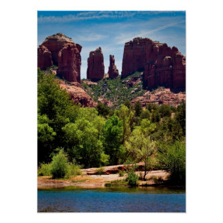 Cathederal Rock Monument Poster