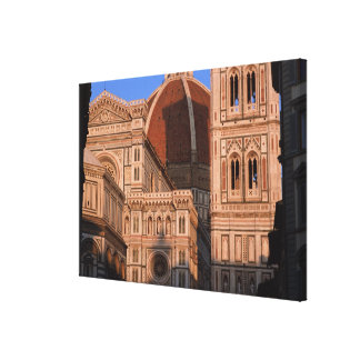 Cathedral 4 stretched canvas print