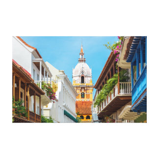 Cathedral and Balconies Canvas Print