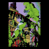 Cathedral and Banana Trees posters