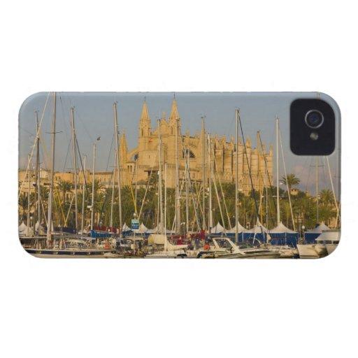 Cathedral and marina, Palma, Mallorca, Spain 2 Blackberry Bold Cover