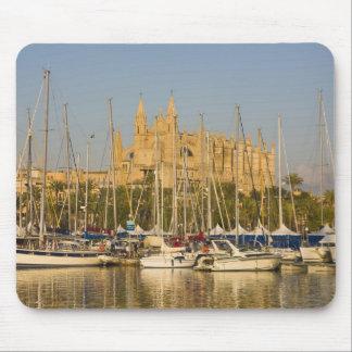 Cathedral and marina, Palma, Mallorca, Spain 2 Mouse Pad