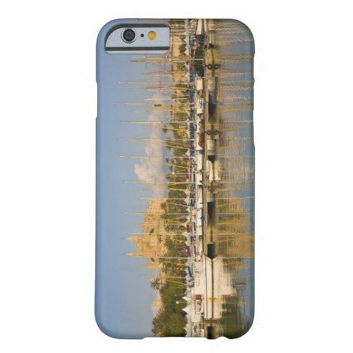 Cathedral and marina, Palma, Mallorca, Spain iPhone 6 Case