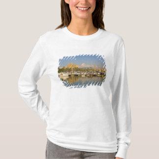Cathedral and marina, Palma, Mallorca, Spain T-Shirt