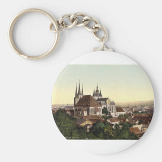 Cathedral and picture of Mary, Erfurt, Thuringia, Keychains