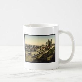 Cathedral and Quay de la Joliette, Marseilles, Fra Coffee Mug