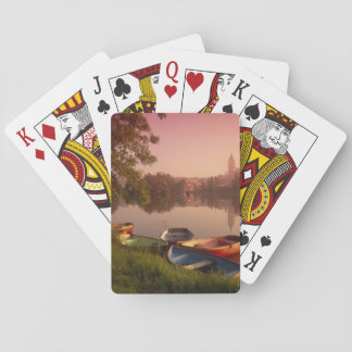 Cathedral and River Tormes, Salamanca, Castile Playing Cards