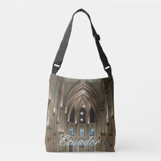 Cathedral-Arches & Glass - Guayaquil, Ecuador Crossbody Bag