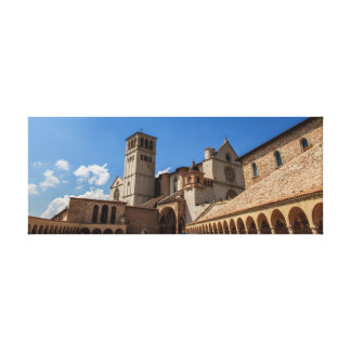Cathedral at Assisi Gallery Wrap Canvas