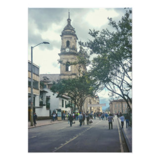 Cathedral at Historic Center of Bogota Colombia Photo Print