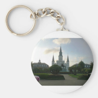 Cathedral Basilica of Saint Louis Keychain