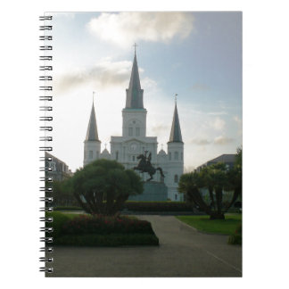 Cathedral Basilica of Saint Louis Spiral Notebook