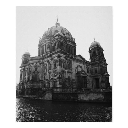 Cathedral Berlin Poster