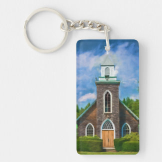 Cathedral Camp Acrylic Keychain