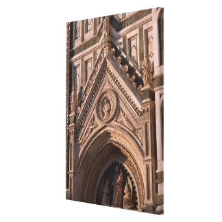 Cathedral Stretched Canvas Print