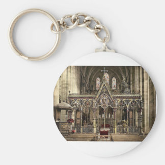 Cathedral choir screen, Hereford, England rare Pho Key Chains