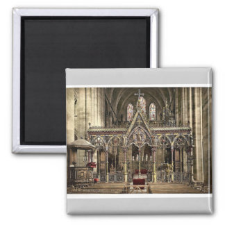 Cathedral choir screen, Hereford, England rare Pho Refrigerator Magnets