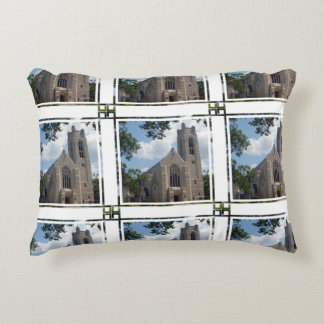 Cathedral Church Accent Pillow