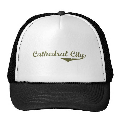 Cathedral City Revolution t shirts Mesh Hats