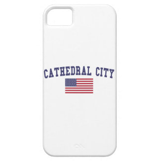 Cathedral City US Flag iPhone SE/5/5s Case