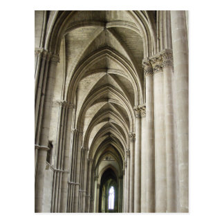 Cathedral Corridor Postcard
