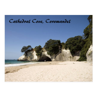 Cathedral Cove, Coromandel Postcard