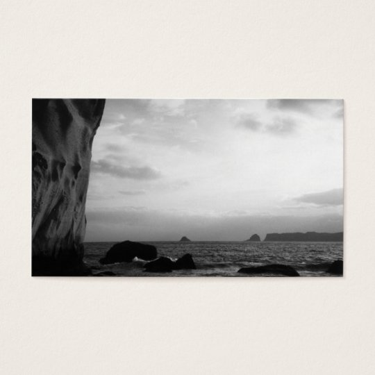 Cathedral Cove in New Zealand Business Card