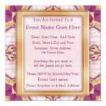 "Cathedral Crucifix 5.25"" Square Invitation Card"