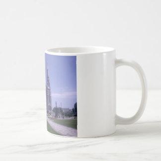 Cathedral Design Coffee Mug