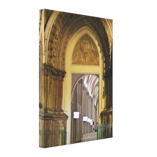 Cathedral Doors - Ecuador Canvas Print