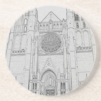 Cathedral Drink Coaster