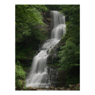 Cathedral Falls, West Virginia Poster